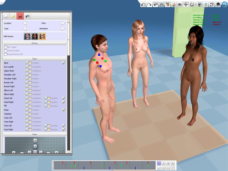 free 3d sex villa game
