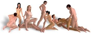 3D SexVilla poses