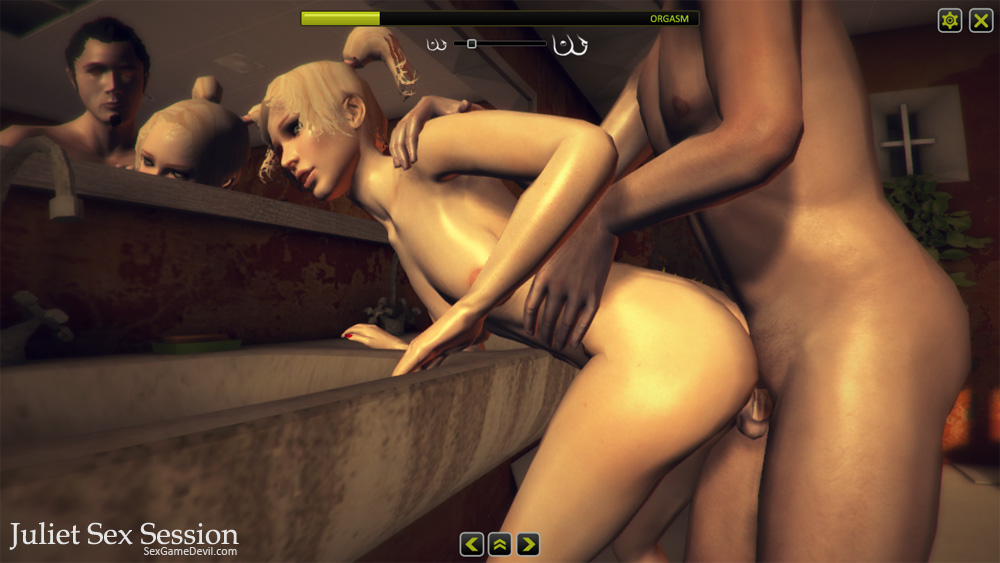 Juliet Sex Session is a 3D xxx game developed by Sex Game Devil for those w